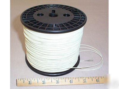 1,000' 22 awg tinned wire,19 strand,high temp,mil spec