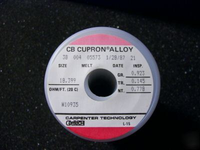 1 lb cupron lab quality magnet tesla coil radio wire