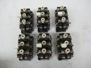 Allen bradley relay 815-B0V16 lot of 6
