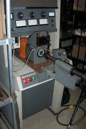 Bearing vibration tester anderometer sheffield w/manual
