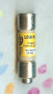 Buss low peak lp-cc-4 600V 4 amp current limiting fuse