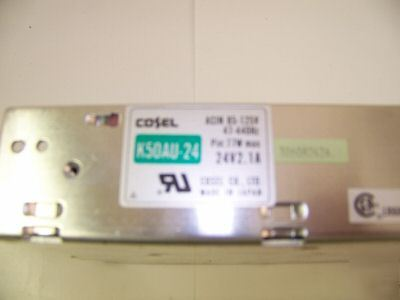 Cosel 24 v power supply K50AU-24 nice