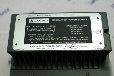 Coutant lambda lxs-e-5-0V-r - power supply 5V 35A