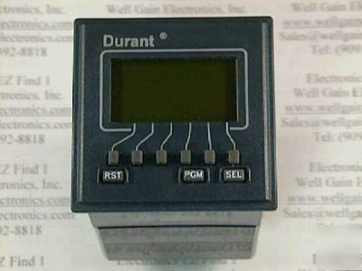 Durant E4148794 6DIGIT 2 set point/batch counter relay