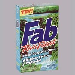 Fab rain forest laundry detergent-cpc 04994