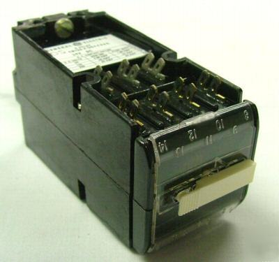 Ge type CR120K control relays (check list for numbers)