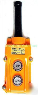 Heavy duty rainproof type hoist pushbutton switch #0501