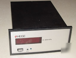 Heise digital pressure indicator