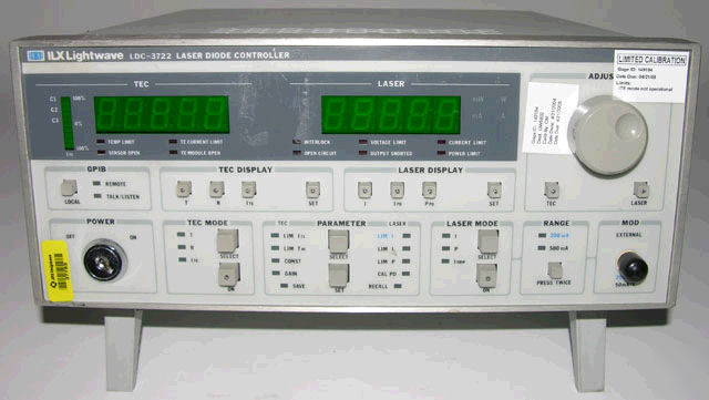 Ilx ldc 3722B laser diode controller as-is