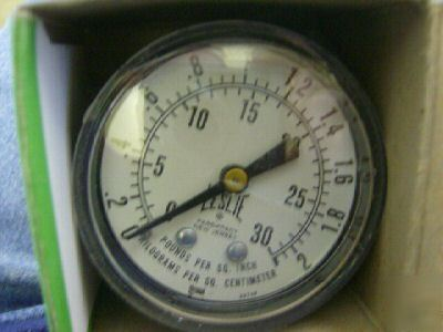 Marshall town 30 psi pressure gauge 0065