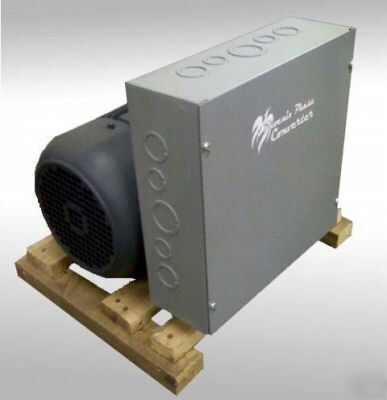 New 7.5 hp rotary phase converter - soft start