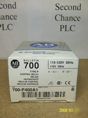 New in box 700-P400A1/b allen bradley 700P400A1 f-11