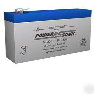 New quantum turbo battery replacement battery - - ps-832