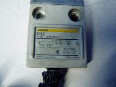 Omron limit switch m/n: D4C-1620 - used