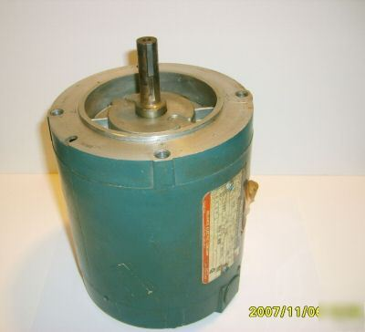 Reliance 3 phase motor 230/480VAC 1/2 hp