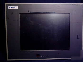 Xycom automation 3515 flat panel touch screen computer