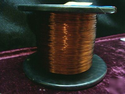 1000 ' # 24 copper magnet tesla coil radio tatoo wire