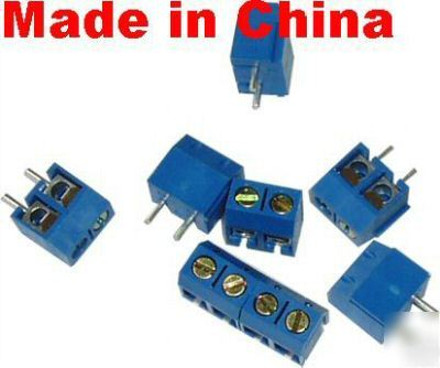 30 pcs 2 pin terminal block connector/3PIN selectable