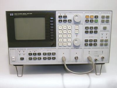 Agilent 3562A dual channel dynamic analyzer