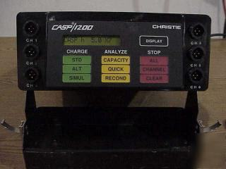 Christie casp/1200 universal battery suport system