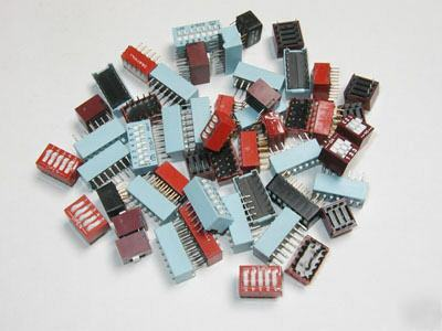 Dip switch assortment 50+ switches
