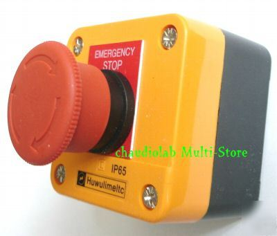 Emergency stop pushbutton control station IP65 HB2#0301