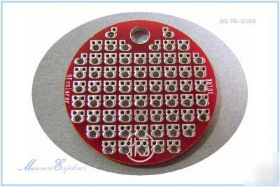 Me-pb-101RK FR4 double layer plated prototype board