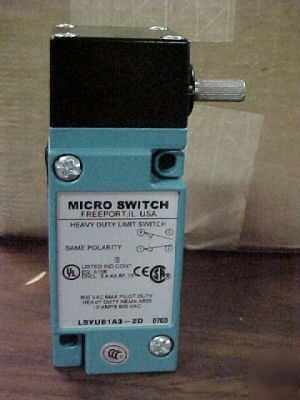 New honeywell micro switch LSYUB1A3 600VAC 10AMP