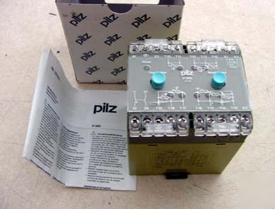 New pilz thermistor protection relay in box