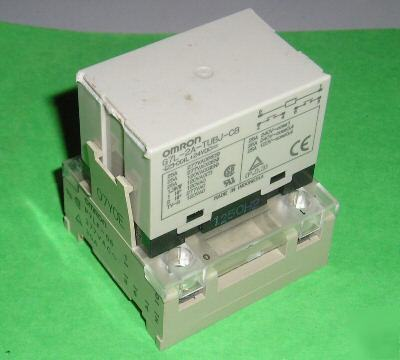 Omron - one - G7L-2A-tubj-cb - 24-vdc coiled relay