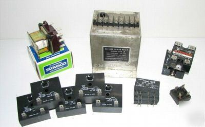 Relay lot solid state ssr timer sst reverse power