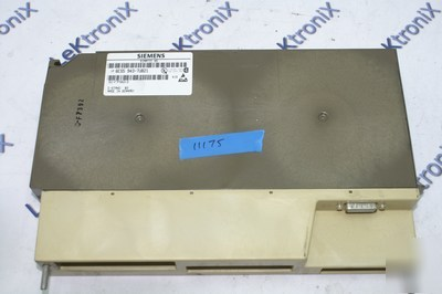 Siemens 6ES5 943-7UB21 CPU943B with 48KB ram & 2 ports