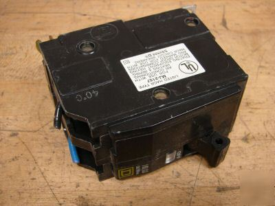 Square d qob circuit breaker 2 pole 20A