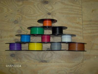 1000 ft teflon 20 awg wire high temperature any color