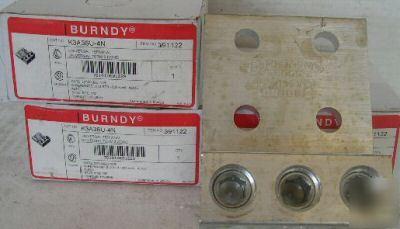 Burndy K3a36u 4n 2 600kcmil Transformer Lug