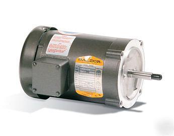 Baldor hp 3 phase electric motor jm3463 for Baldor gear motor catalog