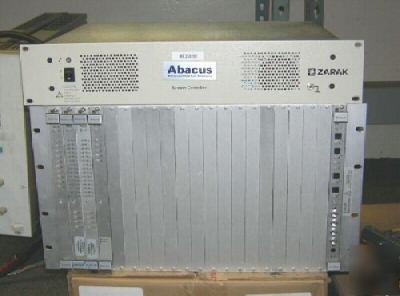 ABACUS1 acg subsystem with rear card
