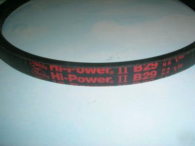 B29 5L320 v belt hi power made in usa by gates