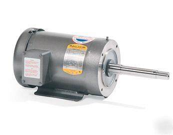 Baldor 2 hp 3 phase electric motor jpm3558t for 2 hp 3 phase motor