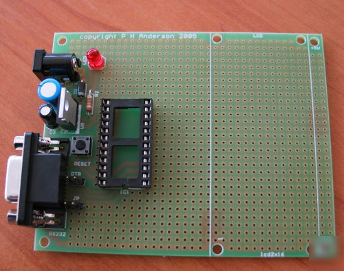 Basic stamp or BX24 protoboard (assembled)