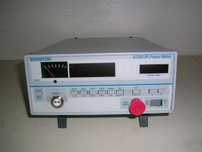 Boonton 4220A single channel rf cw power meter.