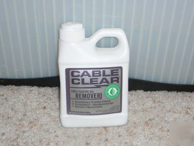 Cable clear / fiber optic gel remover 16OZ bottle