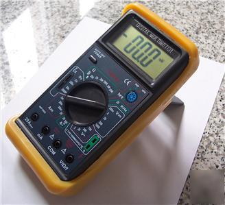 Dmm volt ampmeter digital capacitor tester thermocouple