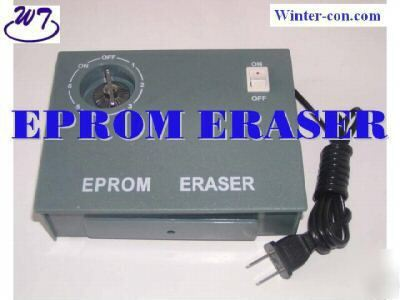 Erasable eprom uv lamp ultraviolet timer program eraser