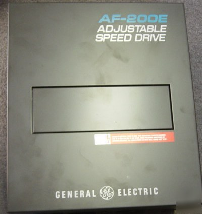 Ge adjustable inverter drive af-200E 6VAF254B 3HP