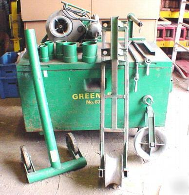 Greenlee 686 tugger puller system complete w/ 640