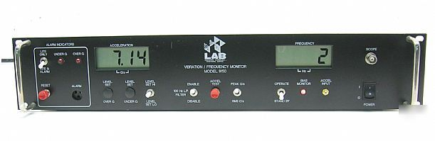 Lab - 9150 vibration / frequency monitor