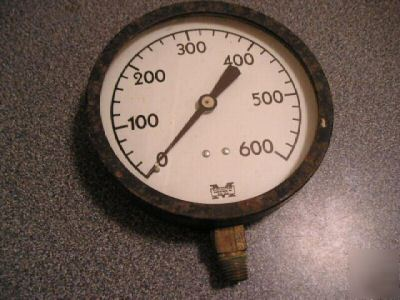 Marshalltown gauge 600 psi, 4.5