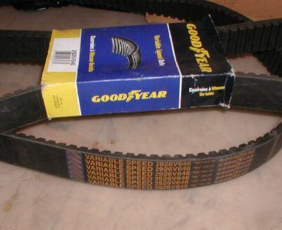 New 2 goodyear 2926V646 variable speed belts * *