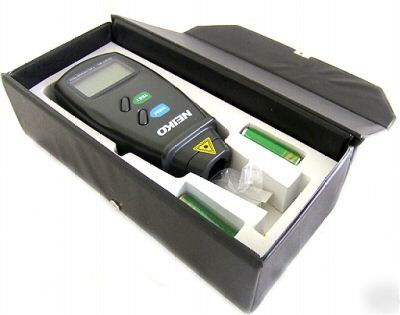 New non contact digital laser photo tachometer -